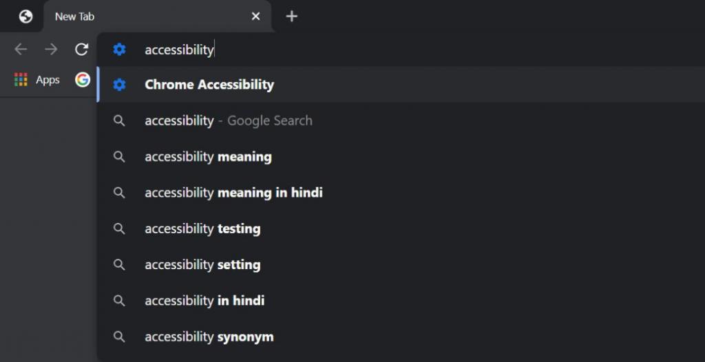 Custom Address Bar Command Shortcut Google Chrome
