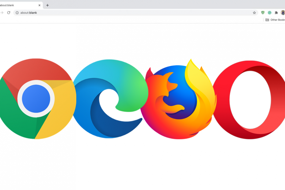 How to Set a Clean, Blank Startup Page in Chrome, Edge, Firefox, and Opera Browser