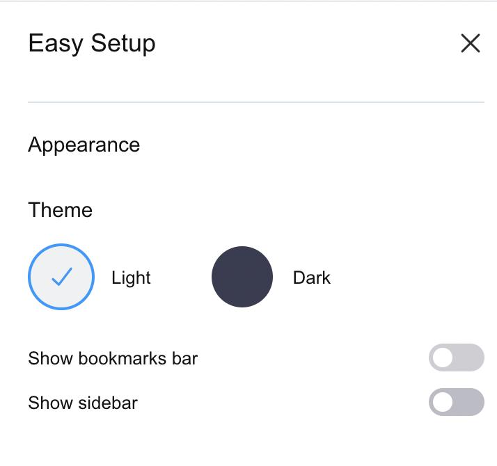 Turn Off Left Sidebar In Opera Browser