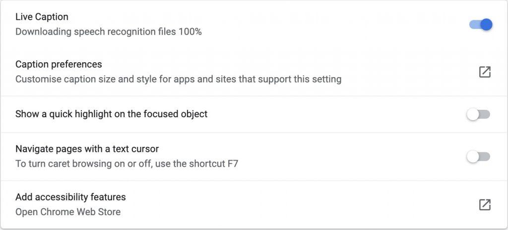 Live Caption- Pro Settings to Enable in Google Chrome