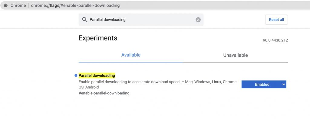 Enable Parallel Downloading Flag to Speed up Chrome Downloads
