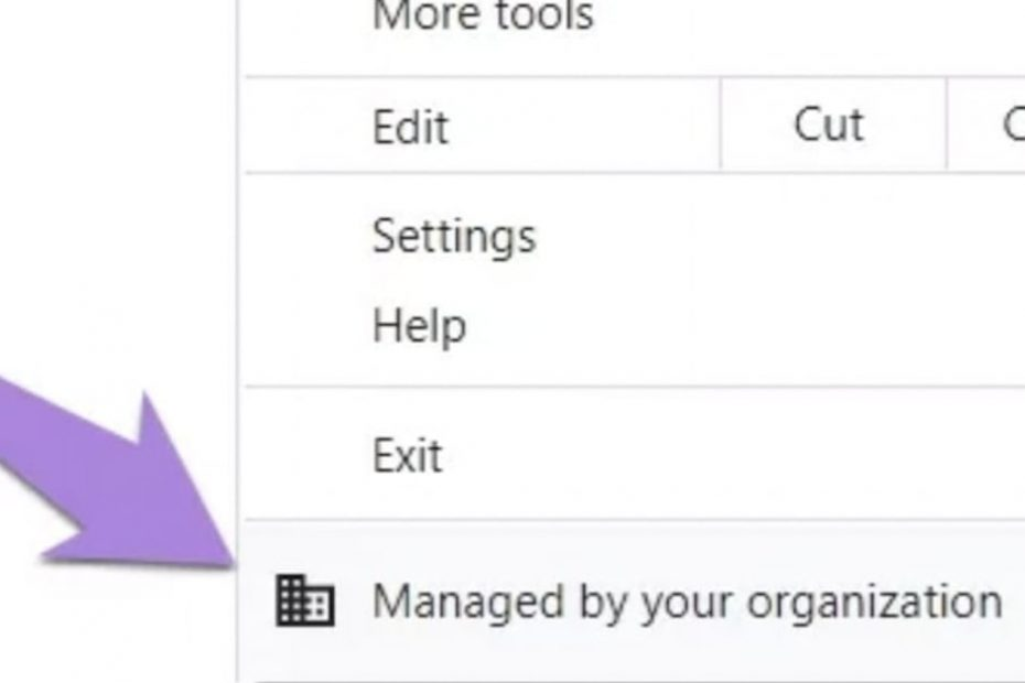 Remove Managed by Your Organization in Google Chrome