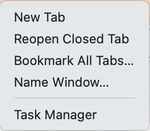 Reopen Closed Tabs in Google Chrome