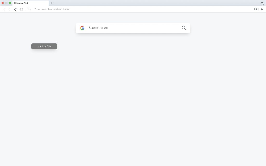 Set Blank Start Page in Opera Browser