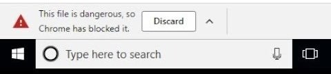 """Can't Download Files in Chrome-""""Download Blocked"""" Error"""