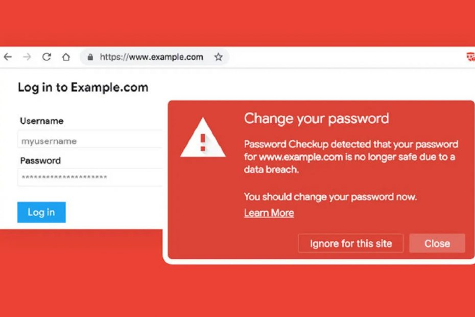 Disable Compromised Password Checkup in Google Chrome