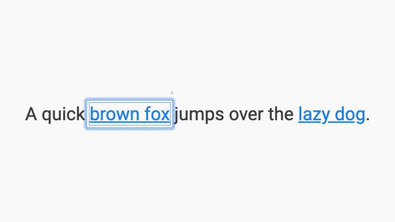 Disable Quick Focus Highlight Box in Google Chrome