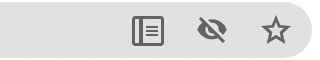 Reader Mode icon in the address bar