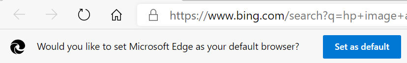 Stop Set as Default Browser Prompts in Microsoft Edge