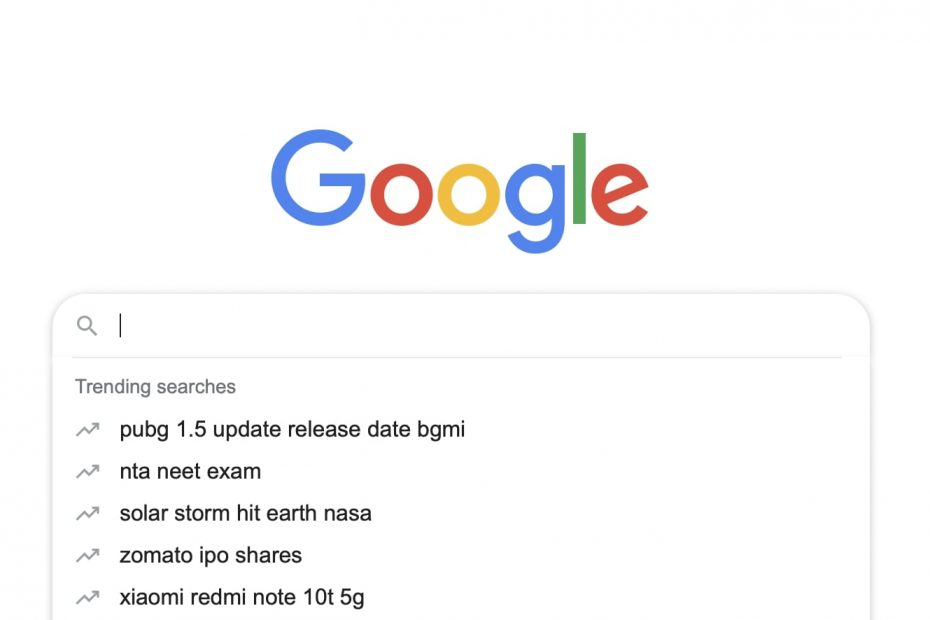 Turn Off Trending Searches in Chrome