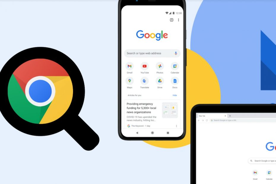 Quick Zoom Web Page in Google Chrome on PC & Android