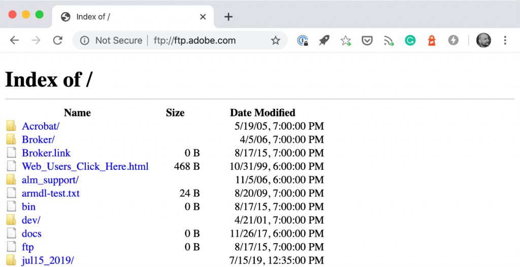 Enable FTP Support in Chrome Latest Version
