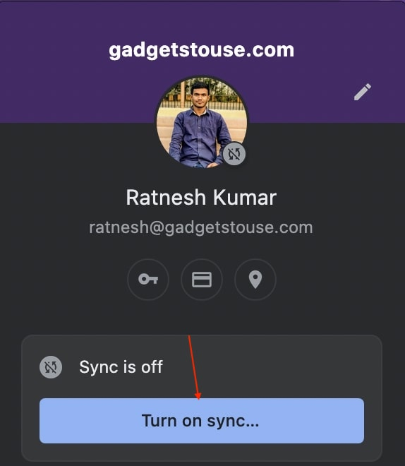 Chrome Sync Not Working